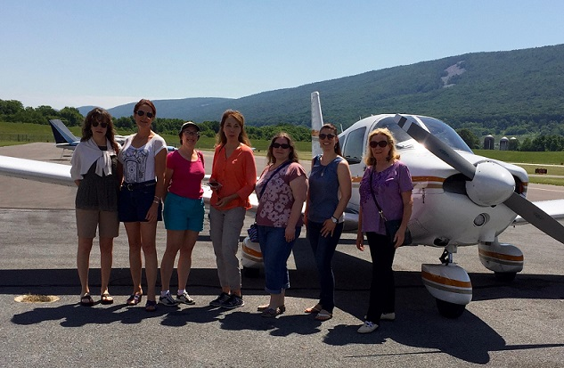 Keystone 99s on a fly-out to Lock Haven Airport